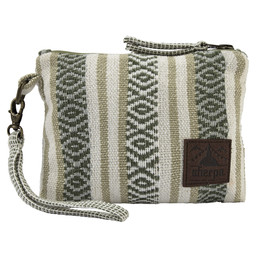 Sherpa Adventure Gear Jhola Wristlet in Koshi Green