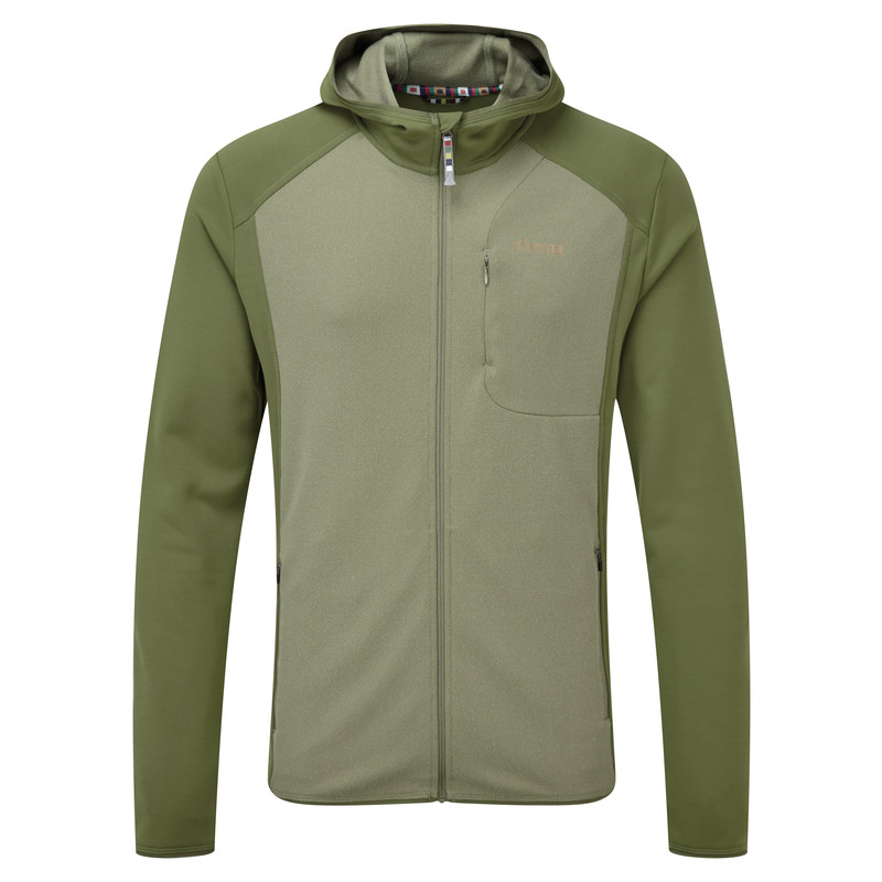 Tsepun Jacket - Koshi Green