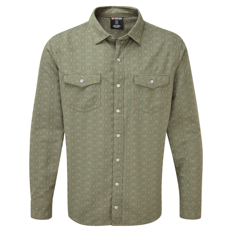 Surya Long Sleeve Shirt - Koshi Green