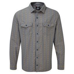 Surya Long Sleeve Shirt Samudra Blue