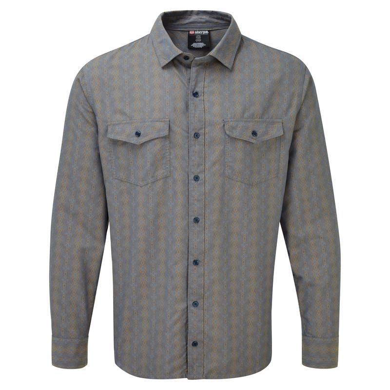 Surya Long Sleeve Shirt - Samudra Blue