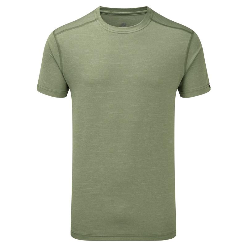 Rinchen Short Sleeve Tee - Gokarna Green