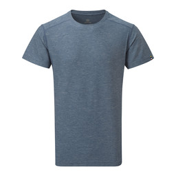 Sherpa Adventure Gear Rinchen Short Sleeve Tee in Samudra Blue