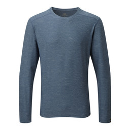 Rinchen Long Sleeve Tee Samudra Blue