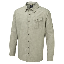 Sherpa Adventure Gear Lokta LS Shirt in Koshi Green