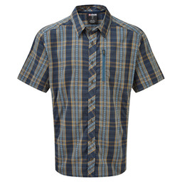 Sherpa Adventure Gear Gokyo SS Shirt in Samudra Blue
