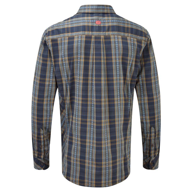 Gokyo LS Shirt - Samudra Blue