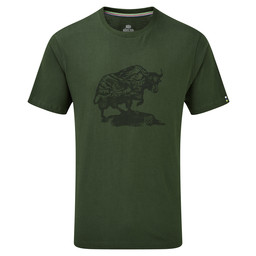 Sherpa Adventure Gear Yak Tee in Mewa Green