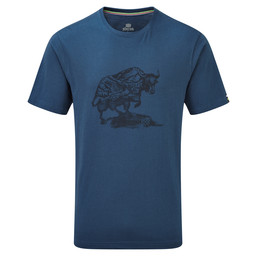 Sherpa Adventure Gear Yak Tee in Samudra Blue