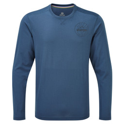 Sherpa Adventure Gear Nima Long Sleeve Tee in Samudra Blue
