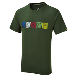 Sherpa Adventure Gear Tarcho Tee                in Mewa Green