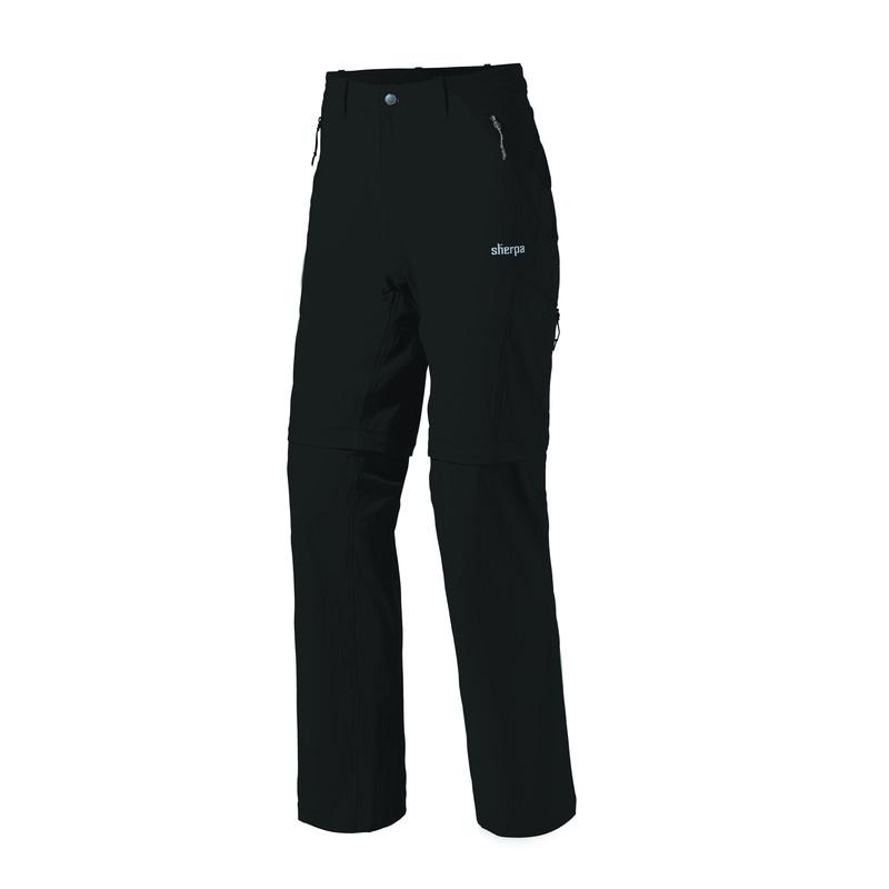 Khumbu Convertible Pant - Black