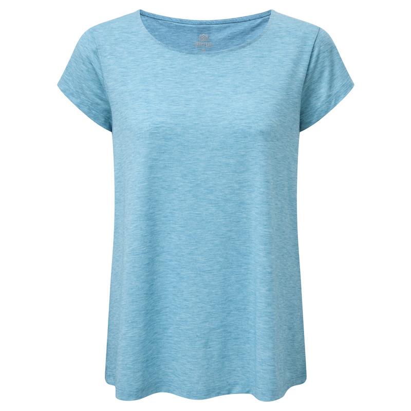 Asha Short Sleeve Tee - Blue Tara