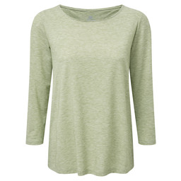 Sherpa Adventure Gear Asha 3/4 Sleeve Top in Gokarna Green