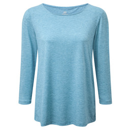 Sherpa Adventure Gear Asha 3/4 Sleeve Top in Blue Tara