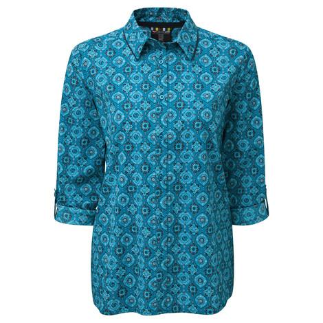 Chakra SS Shirt Blue Tara