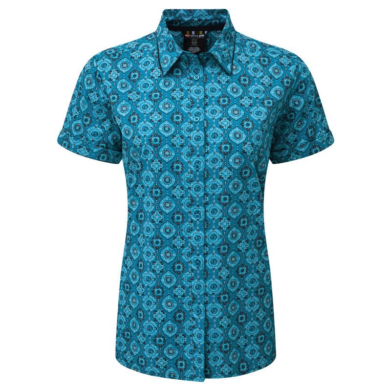Chakra SS Shirt - Blue Tara