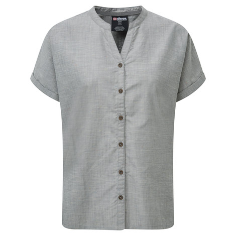 Sherpa Adventure Gear Lokta Shirt in Monsoon Grey