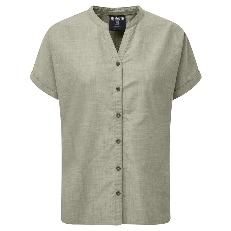 Lokta Shirt - Koshi Green