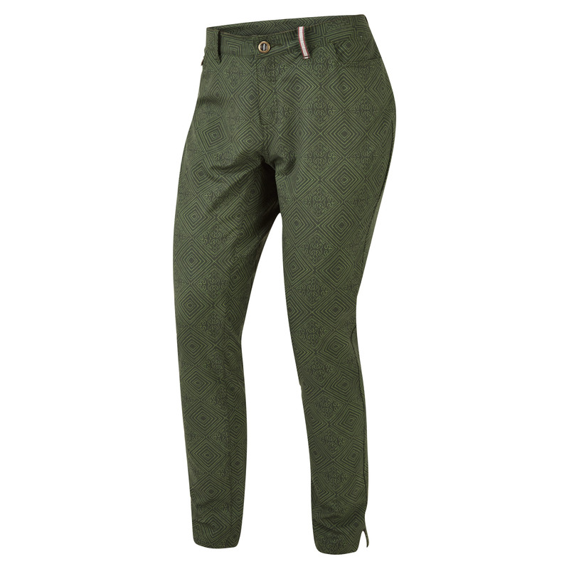 Jatra Ankle Pant - Mewa Green