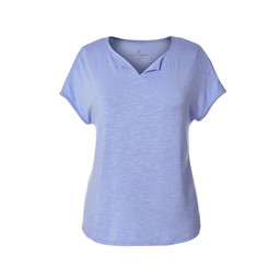 Royal Robbins Noe Cap Sleeve Tee in Pale Iris