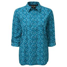 Chakra LS Shirt Blue Tara
