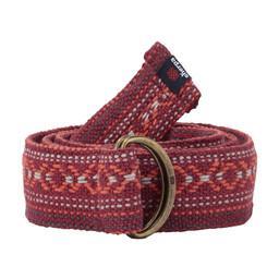 Sherpa Adventure Gear Drukyul Woven Belt in Anaar