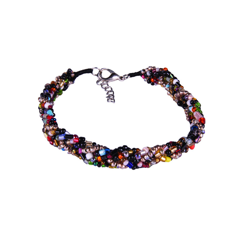 Multi Braided Bracelet - Antique Brass