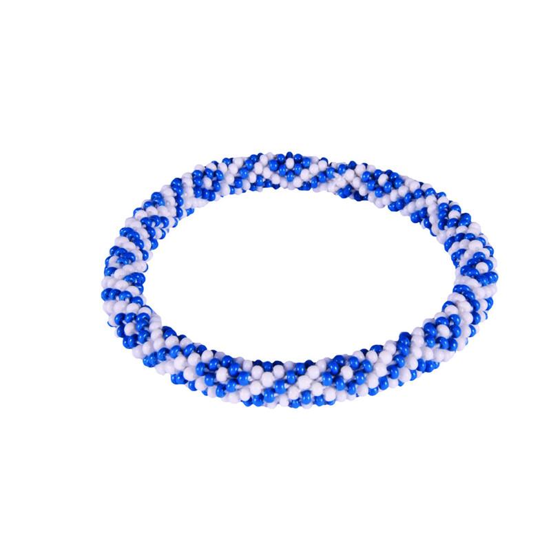 Zweifarbiges Armband (zum Überstreifen) - Blue Tara
