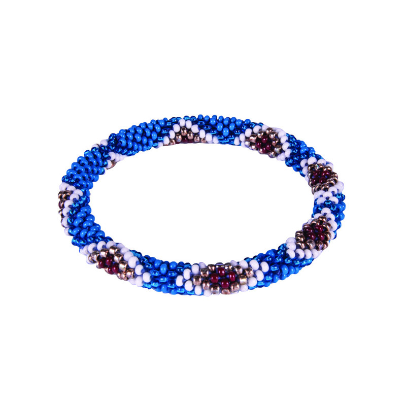Multi Roll on Bracelet - Blue Tara