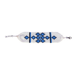 Endless Knot Bracelet Blue Tara