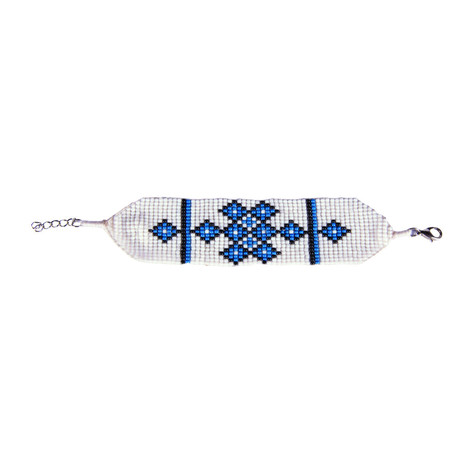 Sherpa Adventure Gear Mayalu Endless Knot Bracelet in Blue Tara