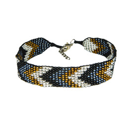 Sherpa Adventure Gear Mayalu Chevron Bracelet   in Kharani