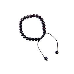 Mala Solid Bracelet Black