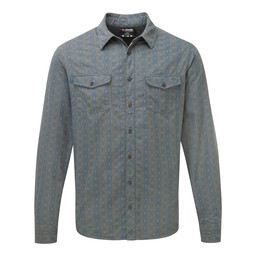 Sherpa Adventure Gear Surya Long Sleeve Shirt in Monsoon Grey