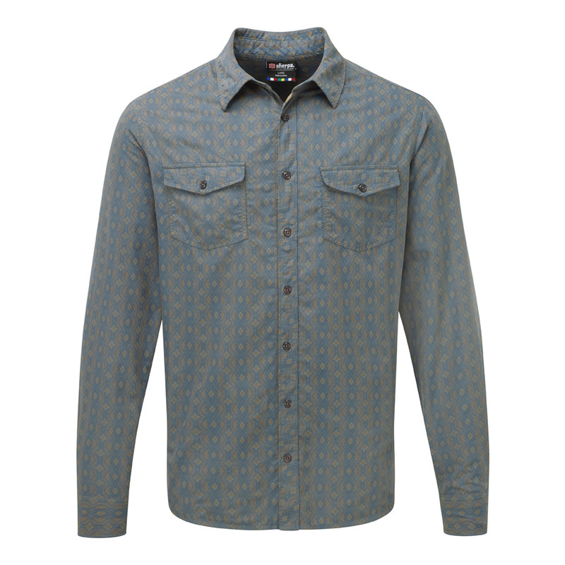 Surya Shirt - LS - Monsoon Grey