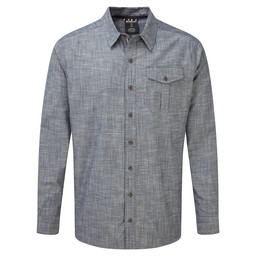 Lokta LS Shirt Monsoon Grey