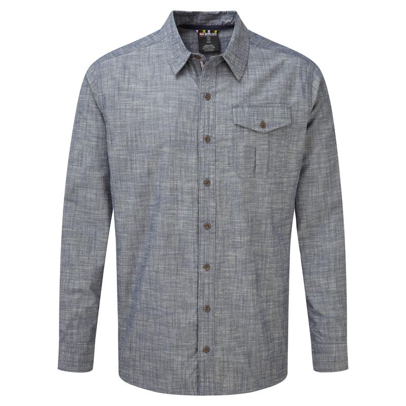 Lokta LS Shirt - Monsoon Grey