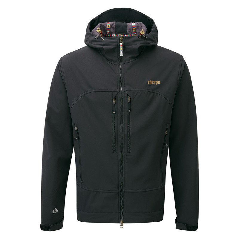 Nilgiri Hooded Jacket - Black
