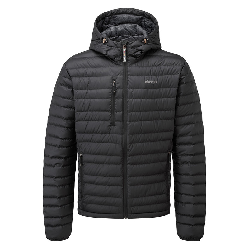 Nangpala Hooded Down Jacket - Black
