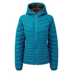 Nangpala Hooded Down Jacket Blue Tara