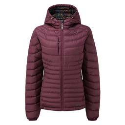 Sherpa Adventure Gear Nangpala Hooded Down Jacket in Anaar