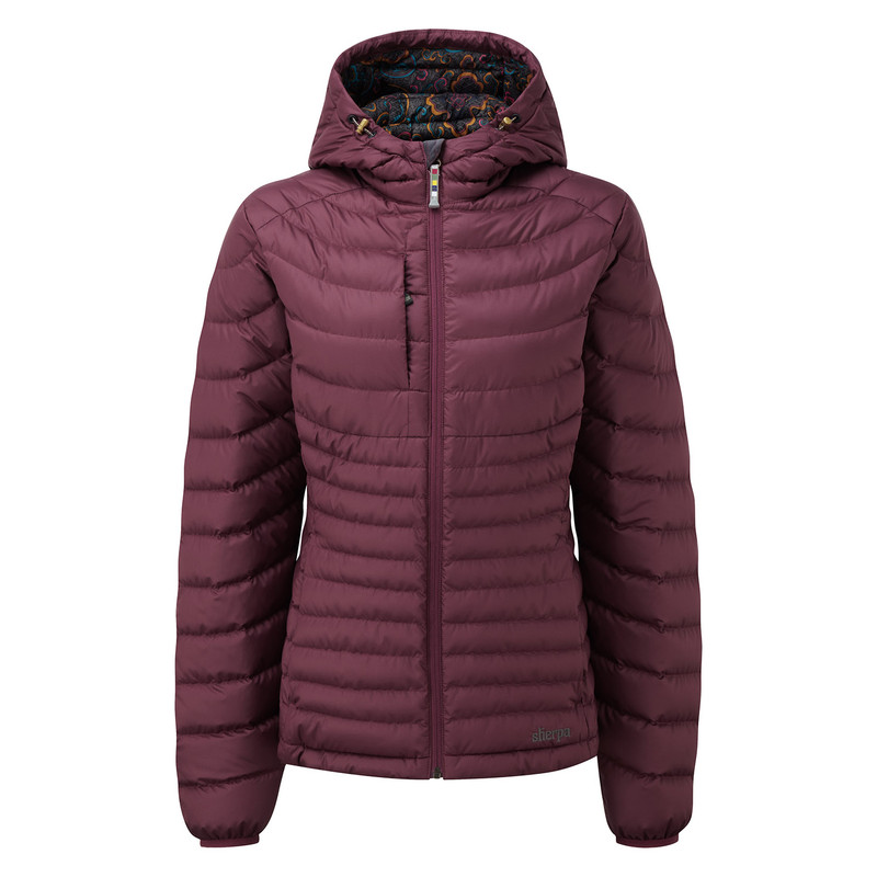 Nangpala Hooded Down Jacket - Anaar